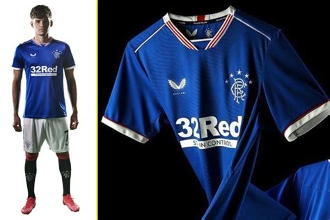 Rangers unveil new home kit designed by Castore for 2020