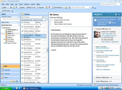 Does Salesforce for Outlook Work on a Mac?