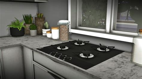 Lana CC Finds - mxims: Louise Kitchen Set So i decided to