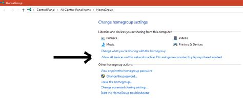 Roku Media Player - Setting up homegroup to show y