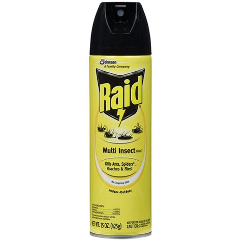Raid Multi Insect Killer 7 Insecticide (15 oz) from