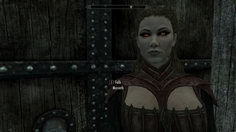 Morinth - Vampire follower and potential spouse at Skyrim