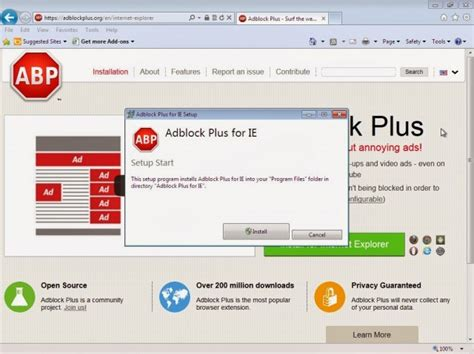 How to Install Adblock Plus for Internet Explorer in