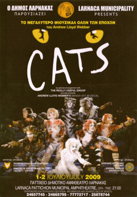 Cyprus : Cats - Musical