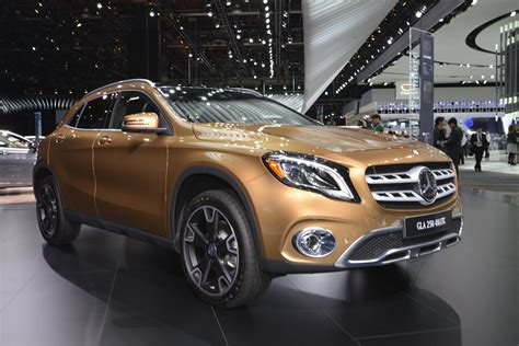 2018 Mercedes-Benz GLA-Class Doesn't Look That Different