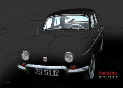 Renault Dauphine (1956-1968)   Oldtimerphotography by aRi F