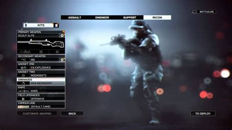 """""""Battlefield 4"""" Multiplayer Kit Load Outs - Guns"""