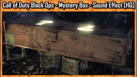 Call of Duty Black Ops - Mystery Box - Sound Effect [HQ
