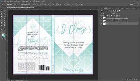 6×9 Full-Cover Template Overlays with Bleed and Barcode