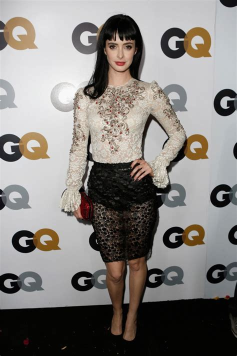 KRYSTEN RITTER at GQ Men of The Year Party in Los Angeles