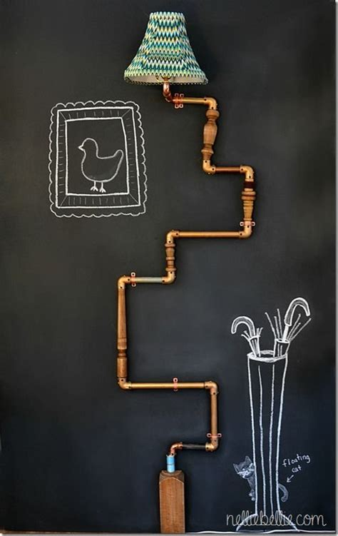 Industrial Eye-Candy: 40 Pipes Home Decor Ideas - DigsDigs