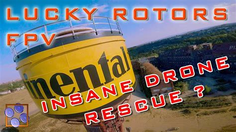 FPV German Drone Freestyle - EPIC RESCUE CONTINENTAL TOWER