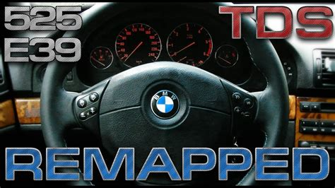 BMW E39 - 525 TDS Chip Tuning Acceleration 0-100 km/h