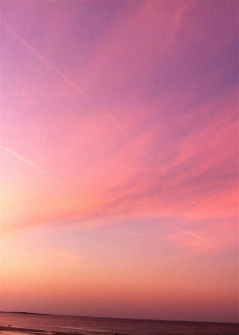 Bright Pink Sunset #sky #color #inspiration #nature #