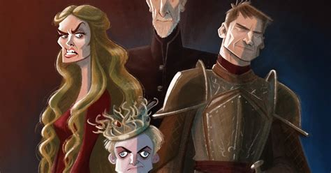 Andrew Chesworth: Lannister Family Portrait
