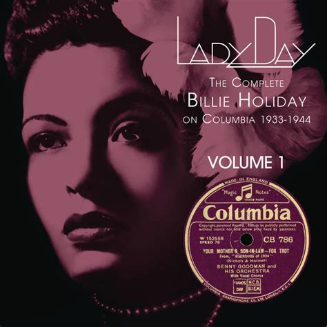 Lady Day: The Complete Billie Holiday On Columbia - Vol
