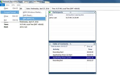 Top 2 Simplest Ways on How to Convert WebEx ARF to MP4