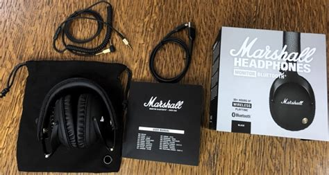 Review: Marshall Monitor Bluetooth Wireless Over-Ear