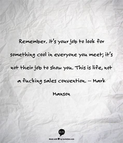 -- Mark Manson | Words, Great quotes