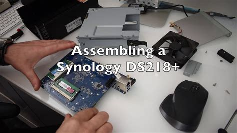 Synology DS218+ A Look Inside, RAM change, upgrade - part