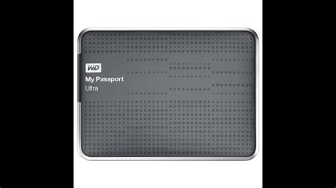 WD my passport ultra disassembled - YouTube