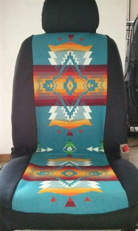 Seat covers with Southwest design | Native American motifs