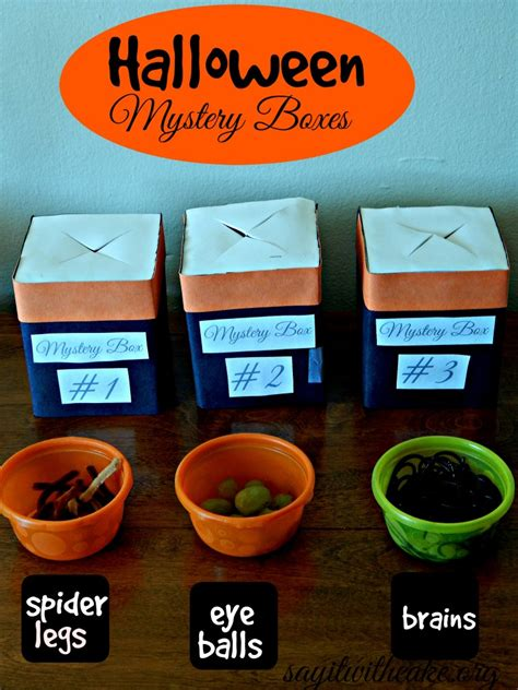 Halloween Party for Kids – Say it With Cake