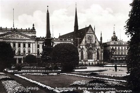 Postcards of the Past - Leipzig, Germany