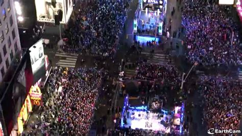 EarthCam Webcams Showcase New Year's Eve Around the World