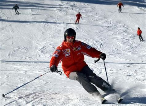 Michael Schumacher 'Trying to Rescue Child' Before Ski