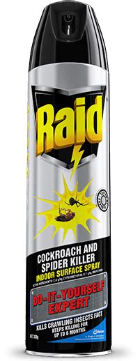 Raid tested by experts cockroach and spider killer indoor