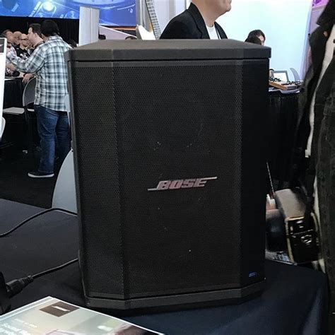 The @bose S1 speaker can be a travel amp monitor or