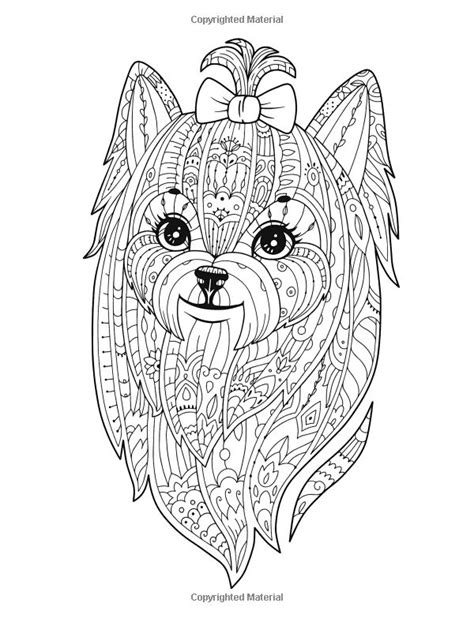Small Dog Breeds Coloring Book: Yorkshire Terrier, Shih