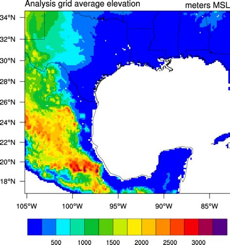 NCL Graphics, WRF