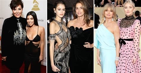 Celebrity Mom and Daughters Who Look Alike: See a Resemblance?