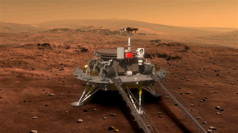China's space ambitions: Robot on Mars, a human on the